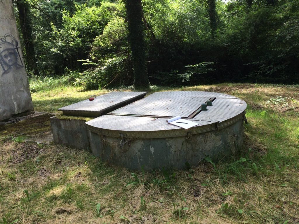 accès reservoir eau potable