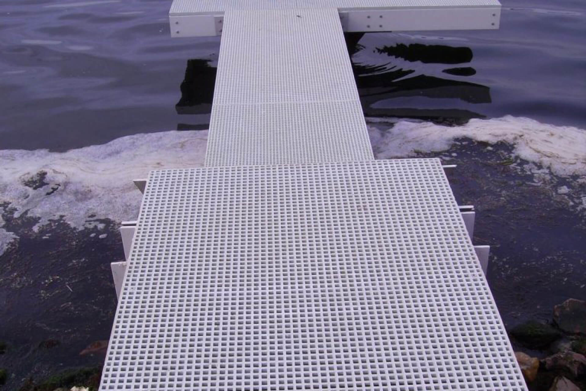 plancher caillebotis idreva