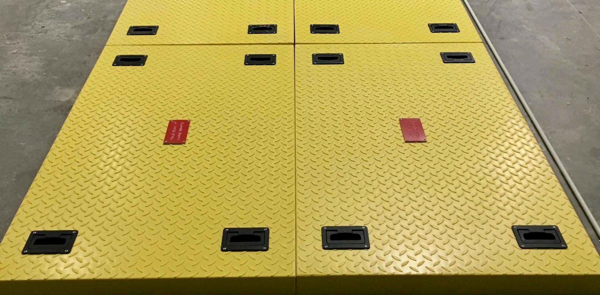 Planchers et caillebotis composite sur-mesure