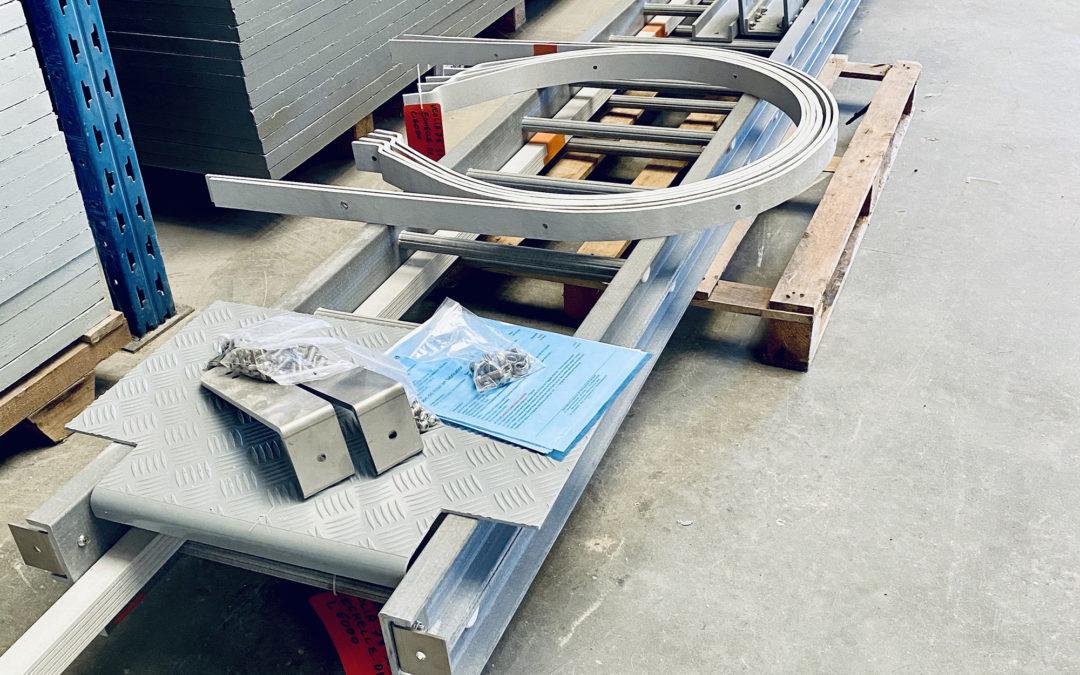 Le saviez-vous ? Les échelles Idréva peuvent être livrées en kit !