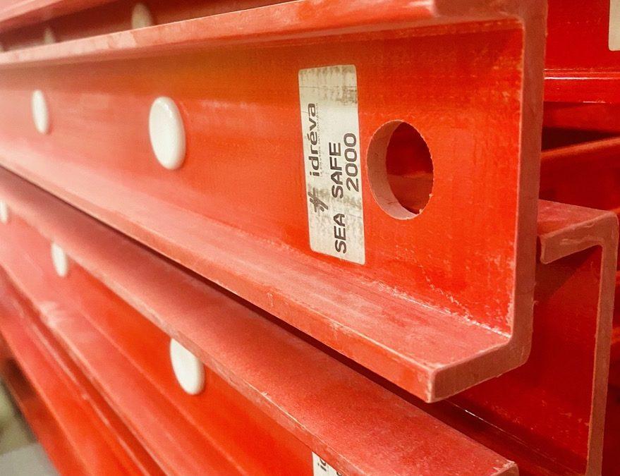 Production : la 100ème échelle polyester Idréva est sortie des ateliers