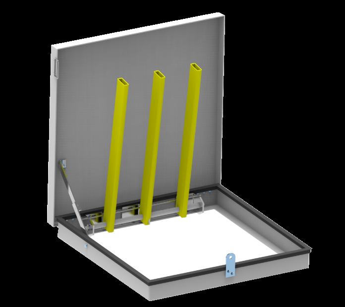 grille anti-chute composite