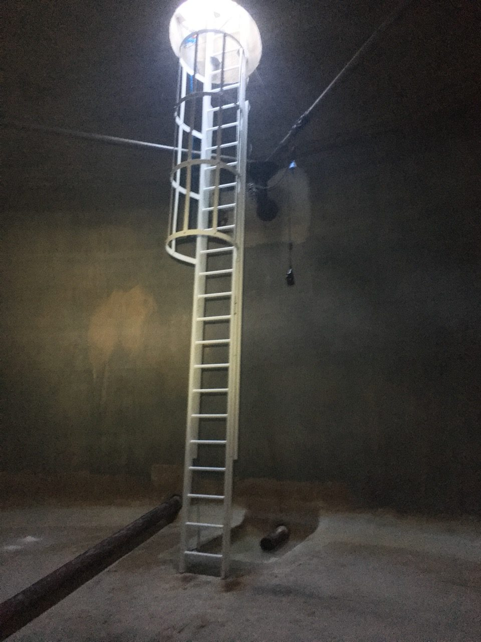 échelle à crinoline composite ACS