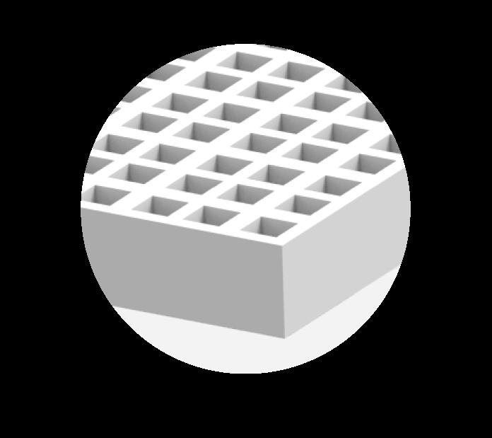 caillebotis polyester