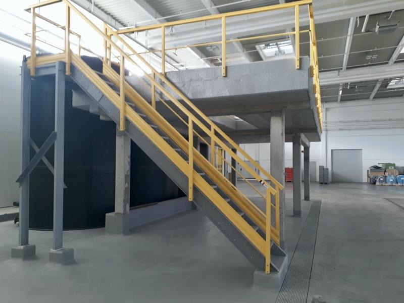 escalier d'accès PRV