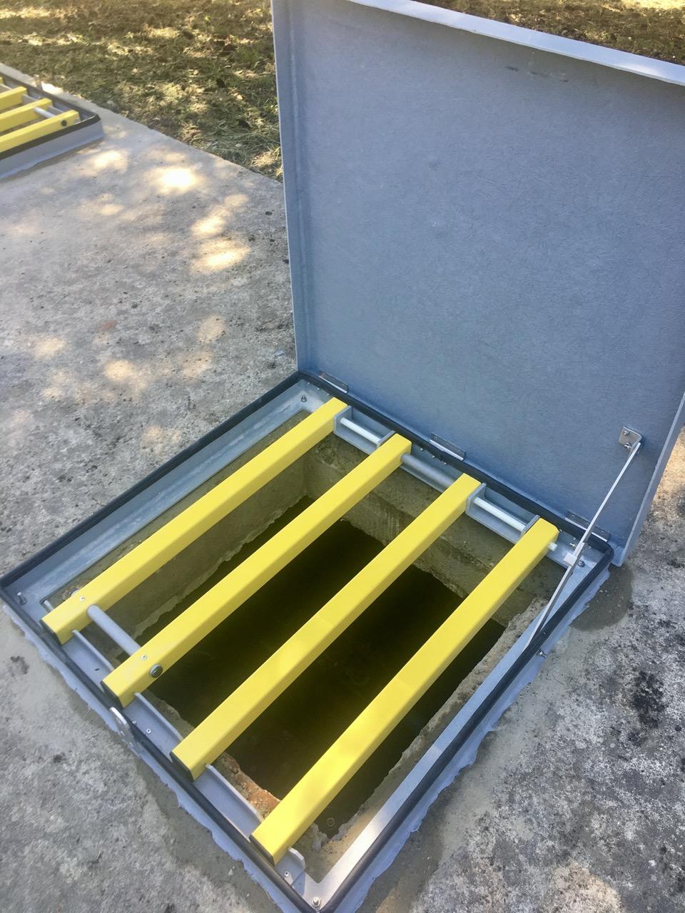 sécurisation grille antichute composite