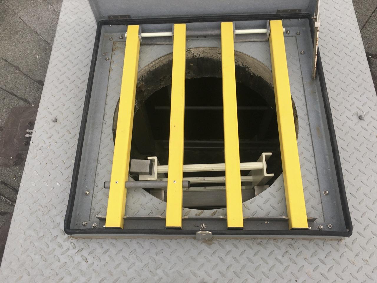 grille antichute composite