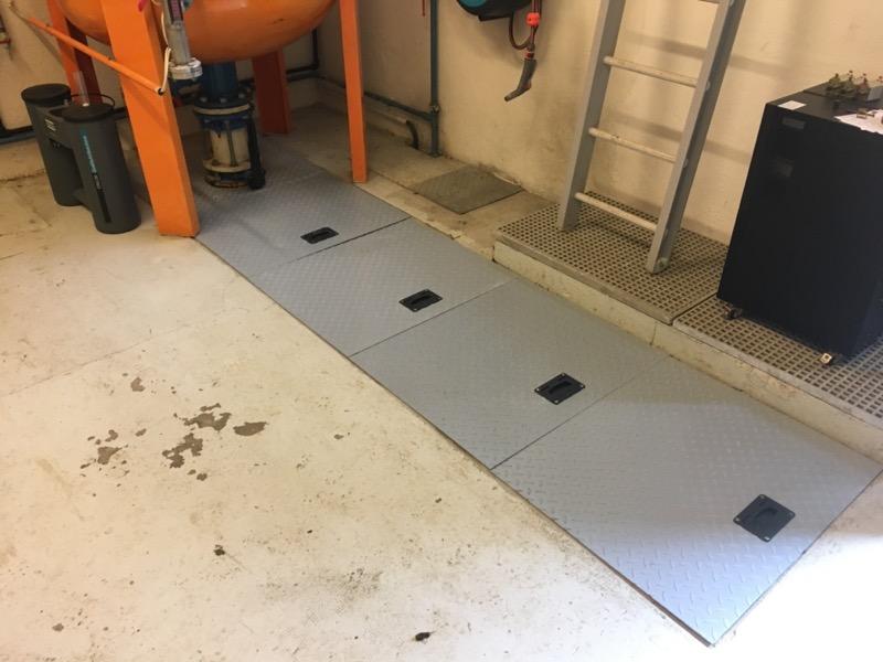 plancher industriel composite