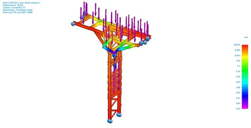 dimensionnement d'une structure composite idréva