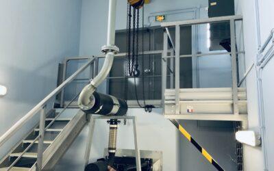 Le garde-corps fibres de verre / Protection contre la chute